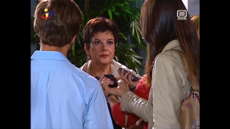 Meu Amor Estela é interrogada pelos jornalistas acerca de Rúben