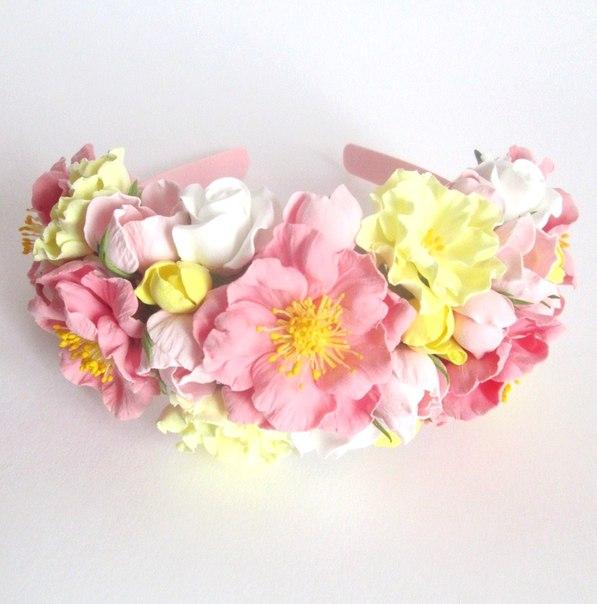 Цветы из полимерной глины! (6 фото) - картинка