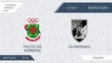 AFL18. Portugal. Primera. Day 15. Pacos De Ferreira - Guimaraes