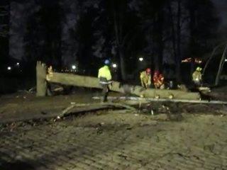 В Карелии из-за шторма без электричества остались 8 тысяч человек