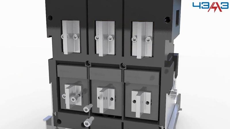 Сборка и разборка автоматического выключателя