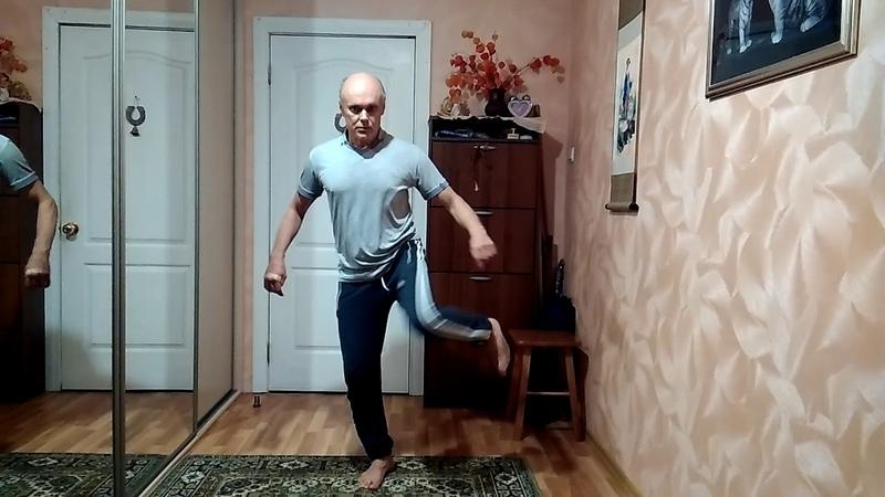 Коррекция таза и ног - великолепные даосские упражнения.Намотка нитей.
