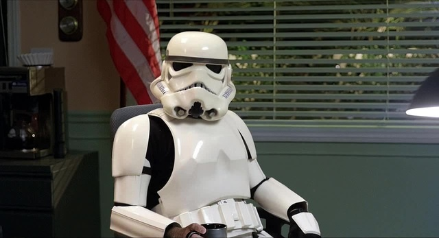 Stormtrooper syndrome