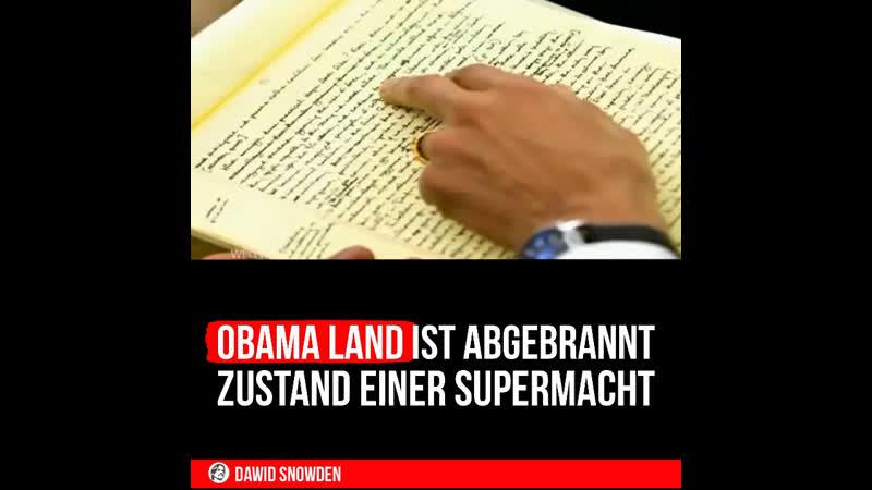 76 Obama Land ist abgebrannt ~ Zustand einer Supermacht