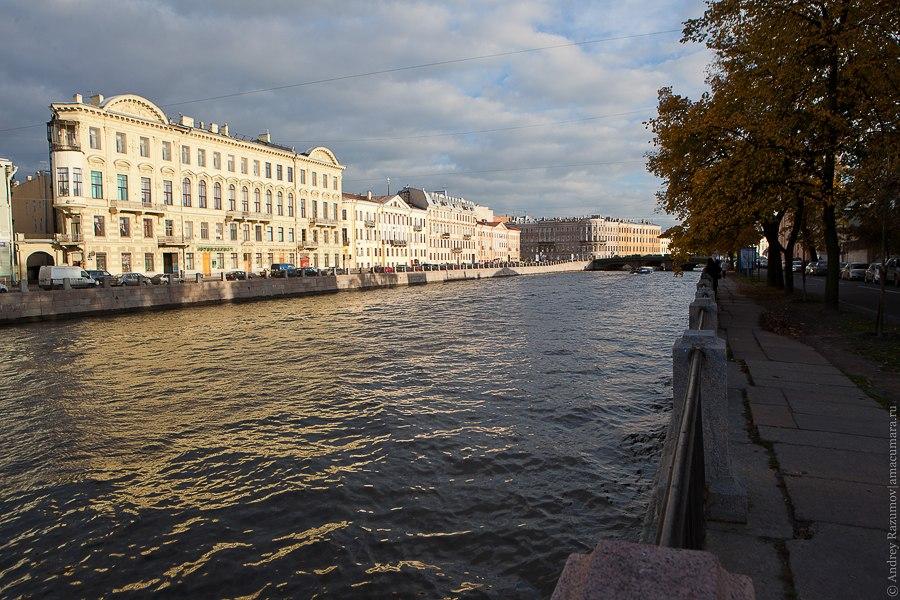 Набережная Фонтанки Санкт-Петербург экскурсия
