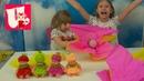 ❤Илошка❤В бумажных цветах нашли детей малышей Куклы Пупсы Цветные детки
