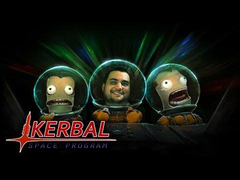 [18] Шон играет в Kerbal Space Program (PC, 2015)