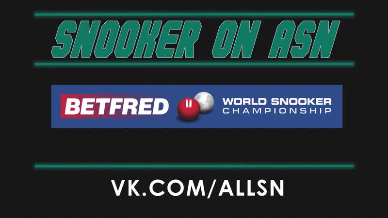 Snooker World Championship | Barry Hawkins VS Li Hang