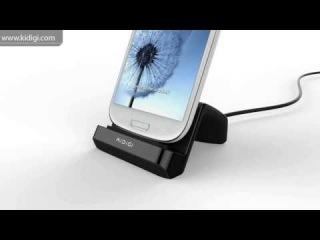 Настольное зарядное устройство! KiDiGI Universal Vertical USB Desktop Charger Dock Cradle for Android smartphones