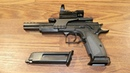 Нудный ролик или смазка пистолета и пристрелка коллиматора на KWC KMB 89AHN