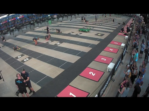 2018 CrossFit Games | Age Group Jump Finish