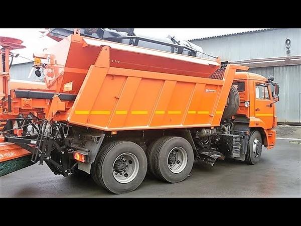 ДМК 70 (аналоги МК 3435 11, ЭД 244А1, КО 829СМ) - комбинированная дорожная машина 6,2 м.куб.