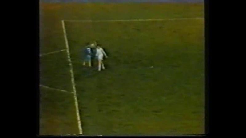 1984-1985 Динамо(Минск)-Железничар(Cараево).