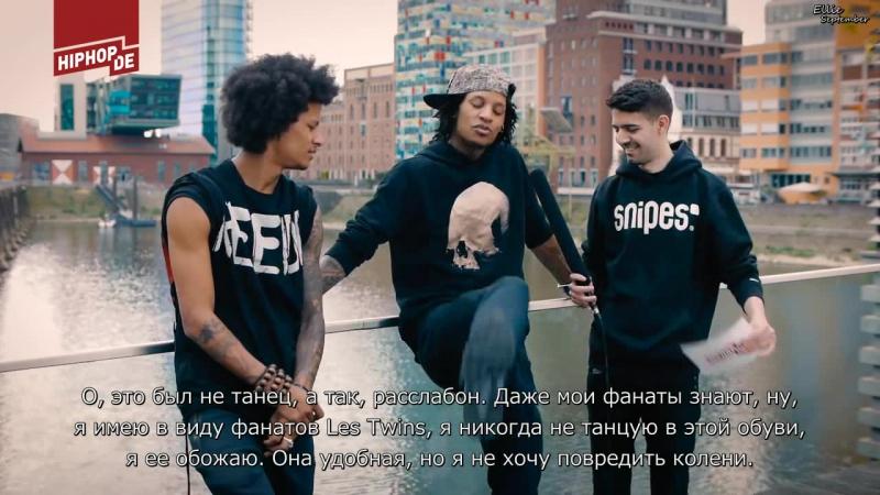Positive Vibes: Die weltberühmten Tänzer Les Twins haben viel zu sagen_rus_sub