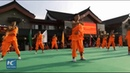 Amazing Shaolin Kung Fu show in central China