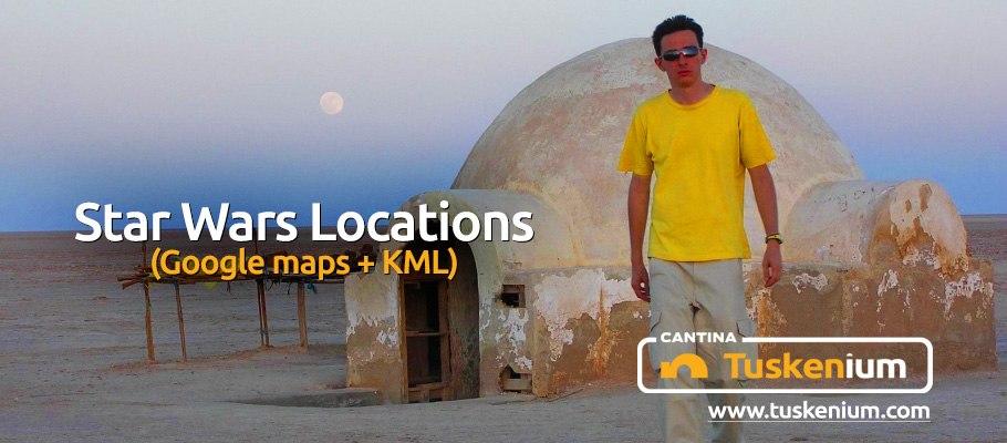 Фэндом: Путешествие в Далекую-Далекую... / Star Wars Location on maps