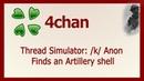 Thread Simulator k Anon Finds an Artillery shell