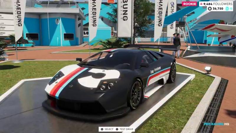 The Crew 2 (2018) | 2003 Lamborghini Murcielago R-GT - Racecar - Test Drive (1440p60fps).