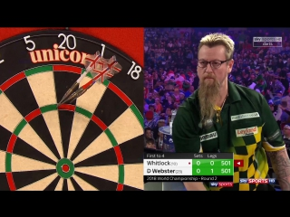 Simon Whitlock vs Darren Webster (PDC World Darts Championship 2018 / Round 2)