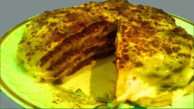 Все гости попросили рецепт   Бесподобно вкусный торт БЕЗ выпечки   Очень нежный - просто тает во рту