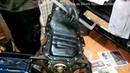 ᴴᴰ(Part 5) Toyota 4AGE 20 valve black top engine rebuild: Remove oil pan, baffle plate and strainer