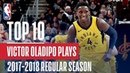Victor Oladipo 17'-18' Most Improved Player | Top 10 Plays Of The Season #NBANews #NBA #Pacers #VictorOladipo