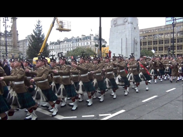 Home Coming Parade 2nd Battalion The Regiment of Scotland (2 Scots)