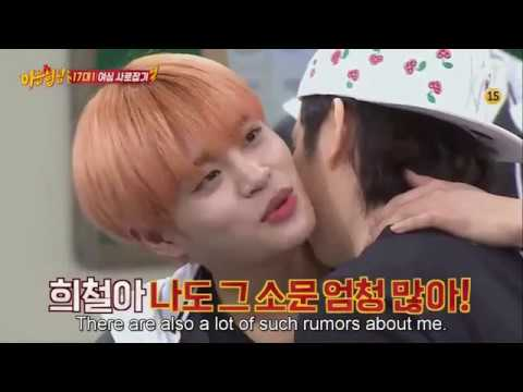 Wanna One Comedy Romantic Scene You Laught You Lose Battle