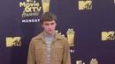 Miles Heizer at the 2018 MTV Movie And TV Awards at Barker Hangar in Santa Monica