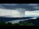 Tsunami from Heaven Amazing Rainstorm Timelapse Downburst Microburst