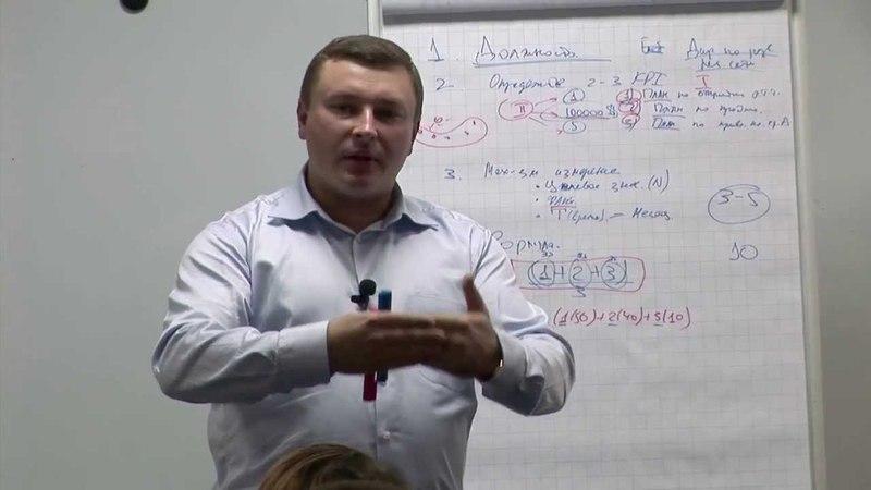 Мастер-класс В. Утенина «Как создать систему оплаты труда, ориентированную на результат». Часть 3
