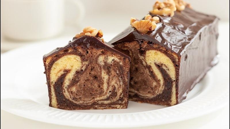 チョコレート・パウンドケーキの作り方 ッピング*手作りバレ 1
