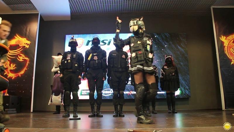 NEET Home guard Zitakukeibitai - SFG Конкурс Косплея 09.12.18