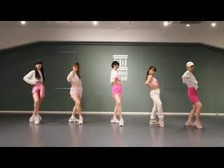 Faky (フェイキ) 'girls gotta live' dance practice [mirrored]