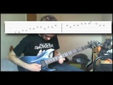 How to play - Palms Read by Protest the Hero (instructional video with tabs)