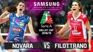 Novara vs Filottrano (DAY 6) - Highlights | Samsung Volleyball CUP