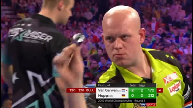 2019 World Darts Championship Round 3 van Gerwen vs Hopp