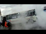 12 человек получили серьезные ожоги в результате коммунальной аварии в Красноярске - Первый канал