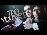Jerome &amp Bruce tag you're it Gotham