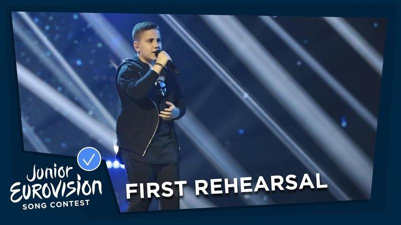 Noam Dadon - Children Like These - First Rehearsal - Israel - Junior Eurovision 2018 🇮🇱