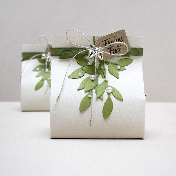 Упаковка красивая для подарка