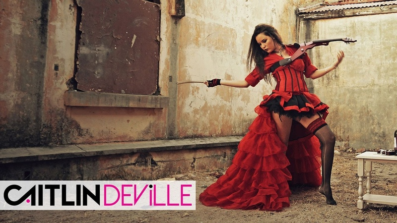 My Dark Valentine - Rock Metal Violin Covers Medley | Caitlin De Ville