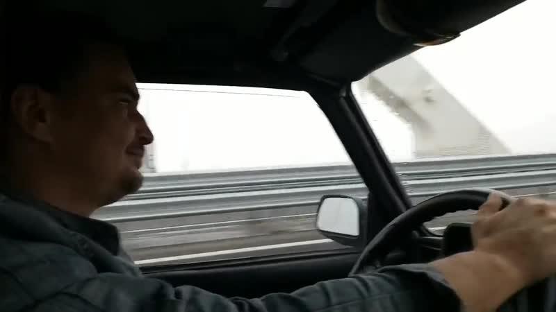 я проехал в Керченский мост