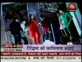 19th May 2010 SBB Aaj Tak Riddhima Gets Drunk And Dances In Party EHQ