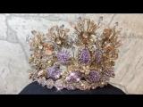 Ждет свою Королеву!!! Эксклюзивная корона для Королевы выпускного бала от российского дизайнера Татьяны Мельник - бренд «Тайм де