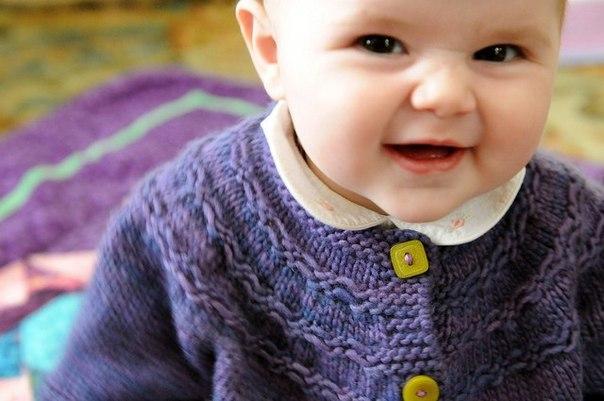 Жакет для малыша (7 фото) - картинка