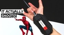 Cardboard Spider-Man Web Shooter That Shoots