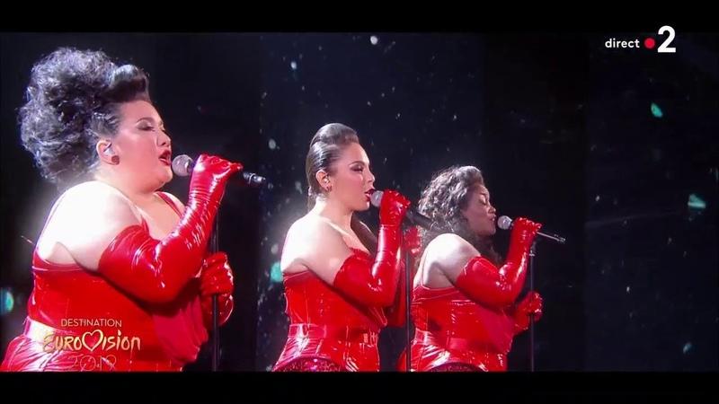 The Divaz - La voix dAretha Destination Eurovision 2019 - 2eme demi-finale