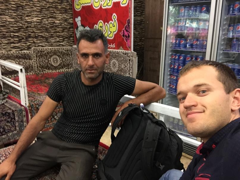 Иран 4. Мой водитель
