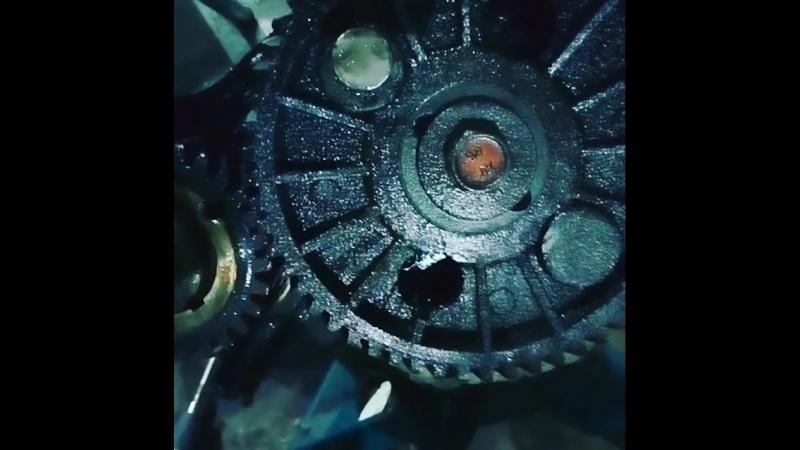 Люфт шестерни распредвала! Из-за этого дизельный звук при работе двигателя УМЗ 4216